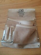 CLC 17423L 5 Pocket Carpenter's Nail & Tool Bag - Custom Leathercraft