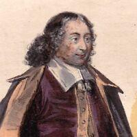 Blaise Pascal Mathématicien Physicien Moraliste Théologien Théologie Jansénisme