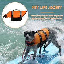 Dog Buoyancy Aid / Pet Life Jacket - Swimming & Boating - Sizes XXS~XXL - New