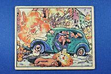 """1938 Gum - Horrors of War - #69 """"Gun Shells Daring War"""" - VG Condition"""