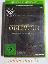 XBOX 360 The Elder Scrolls IV Oblivion Game of the Year Edition XBOX ONE NEUF