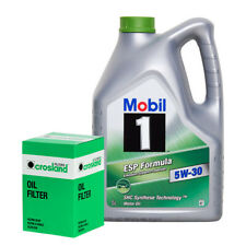 Mobil 1 ESP 5W30 Engine Oil 5L + Oil Filter VW GOLF 1.6 1.8 T 1.8 T GTI 2.0