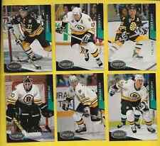 1993-94 UD Parkhurst Boston Bruins Team Set (20)