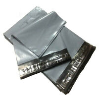 """1000 MIXED MAILING BAGS GREY PARCEL PACKAGING 6.5""""x9"""" 9""""x12"""" 10""""x14"""" 12""""x16"""""""
