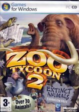 Zoo Tycoon 2: Extinct Animals (PC Game) Expansion Pack FREE US Shipping - NEW
