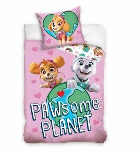 Bedding Set Paw Some Planet Glow In The Dark Pillowcase Duvet Cover 160x200cm