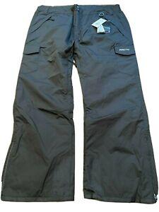 ARCTIX 5K Black Nylon Cargo Snow Ski Snowboard Vented Pants mens XXL 2XL new NWT