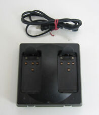 ORIGINAL LEICA GKL122-1 BATTERY CHARGER GPS DUAL PORT D70362, FOR SURVEYING