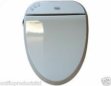 ELONGATED TOILET & BIDET SEAT WITH DRYER.USE FOR DISABLED PERSON.FREE P&P.