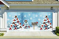 Christmas Garage Door Covers 3d Banners Outside Unique Home Decor Outdoor GD20