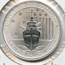 2015 Australia Battle of the Coral Sea War in Pacific 1/2 oz Silver Coin - JK499