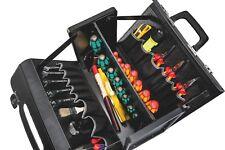 PARAT ABS Leder Werkzeugtasche 343x36x20 cm Werkzeuge Tasche aufklappbar + Wand