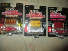 3 1964 CHEVY IMPALA SS RACING CHAMPIONS MINT 3 CAR LOT NEW CHEVROLET SS sealed