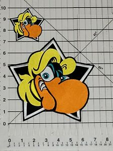 WMMS BUZZARD LOT OF 4 PATCHES (2 LARGE AND 2 SMALL) CLEVELAND ROCKS