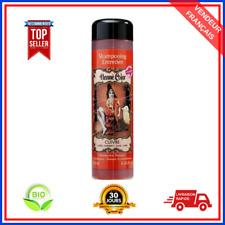 Shampoing Henné Cuivre Pure BIO 100% Naturel Sans Sulfate Cheveux Colorés 250 ml
