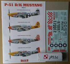 *P-51 D/K Mustang part 1. Kagero DECALS *N*E*W*