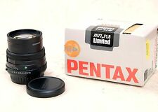 Obiettivo PENTAX  FA 77mm f/1.8 LIMITED nero  FOWA 77 1,8  AF black