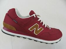 NEW BALANCE 574 Nylon Red Sz 17 2E Wide Men Running Shoes