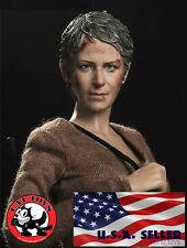 IN STOCK 1/6 Carol Peletier The Walking Dead Melissa McBride Head Sculpt USA