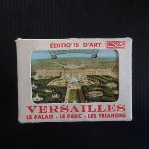 20 cartes miniatures Versailles LYS éditions art FIDELCOLOR vintage France N7610
