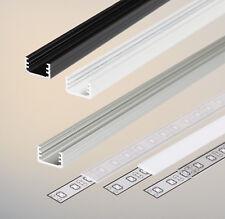 Alu Profil SLIM8 mit Abdeckung A für LED Streifen Band Stripes Aluprofil Leiste