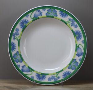 Winterling Dessina grün/blau Suppenteller tiefer Teller Ø ca. 22,5 cm