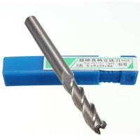 1Pc  Extra Long 6mm 3 Flute HSS & Aluminium End Mill Cutter CNC Bit Extended