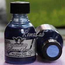 1 bottiglina di SMALTO GLIMMER GLAZE TATTERED ANGELS colore shy violet