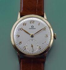 Vintage 1948 Solid 14k Solid Gold Omega Classic Men's Dress Men's Watch