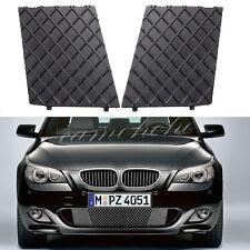 For BMW E60 E61 M Sport Black Front Bumper Cover Lower Mesh Grill Trim