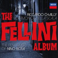 RICCARDO/FILARMONICA DELLA SCALA CHAILLY - THE FELLINI ALBUM   CD NEU ROTA,NINO