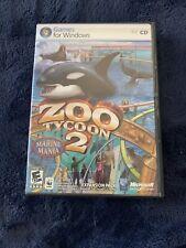 Zoo Tycoon 2 Marine Mania (PC, 2006) FREE SHIPPING