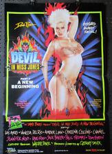 POSTER Orig 1-SH ~ DEVIL IN MISS JONES 3 - ~ 1986 Lois Ayers & Vanessa del Rio