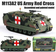 US M113 A2 Armored carrier tank Red Cross 1:72 no diecast Easy Model