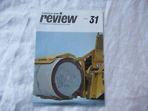 1977 Volvo BM equipment review company newsletter brochure