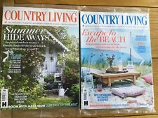 2 New Country Living Magazines August / July 2018
