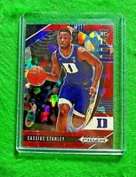 CASSIUS STANLEY PRIZM RED CRACKED ICE ROOKIE CARD DUKE RC PACERS 2020 PRIZM RC