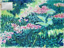 Frédéric BRANDON - Peinture originale signée - Le jardin