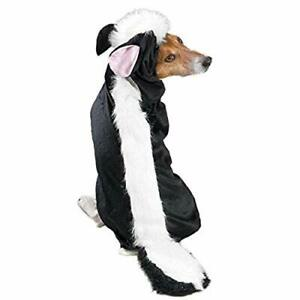 """Casual Canine Lil' Stinker Dog Costume Medium fits lengths up to 16"""" Black/White"""