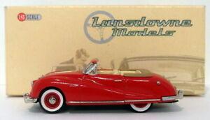 Lansdowne Models 1/43 Scale LDM44 - 1948 Austin A90 Atlantic Convertible - Red