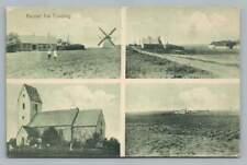 Vinding Denmark~Antique Postcard Vejle Postkort Multiview Aarhus 1910s