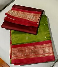 NEW Indian Traditional women wear Art Silk Saree with blouse piece.