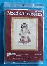 Needle Treasure Stitchery , 00557 , Lydia & The Shirley Temple Doll - * New *