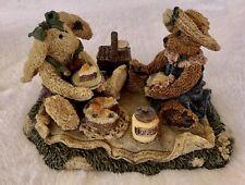"Vintage Boyd's Bears ""Bailey & Emily Forever Friends Picnic Retired 1993"