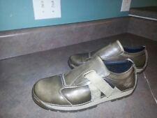 Men's DR MARTENS Rare Retro Trendy Shoes Brown Gold 2B30 Size 7 (CON31)