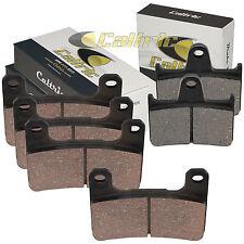 FRONT & REAR BRAKE PADS FITS SUZUKI GSXR750 GSX-R750 2004 2005