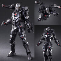 Play Arts Kai War Machine Action Figure Movable Toy Gift New IN Box Avengers 3