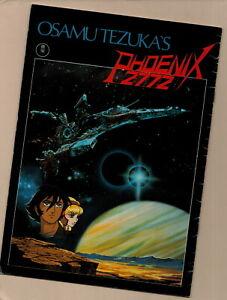 Osamu Tezuka Phoenix 2772 Movie Program book, 1980 Vintage Anime Japanese