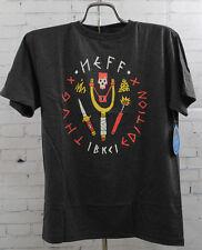 New Neff Boys Youth Thug Addition Short Sleeve T-Shirt Medium Charcoal Heather