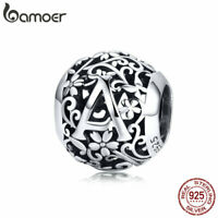 BAMOER Authentic .925 Sterling silver charm Bead Decorate A Fit Bracelet Jewelry